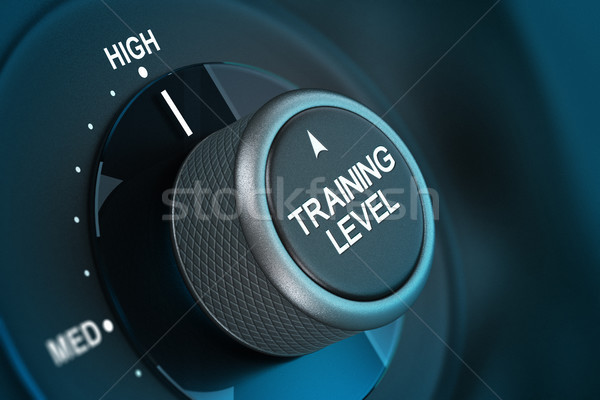 Training Level Concept, Coaching Stock photo © olivier_le_moal