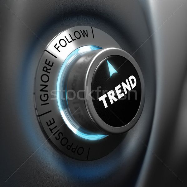 Trading, Trend Following Stock photo © olivier_le_moal