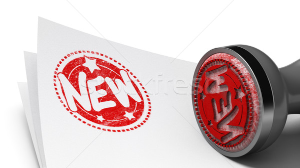 Novelty concept, New product or service. Stock photo © olivier_le_moal