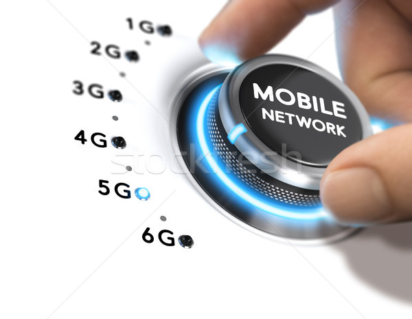 5th Generation Mobile Network, 5G Wireless System Release Stock photo © olivier_le_moal