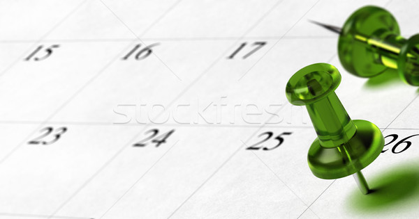 setting an appointment date on an agenda Stock photo © olivier_le_moal