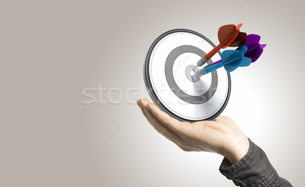Effective Solutions and Control Concept Stock photo © olivier_le_moal