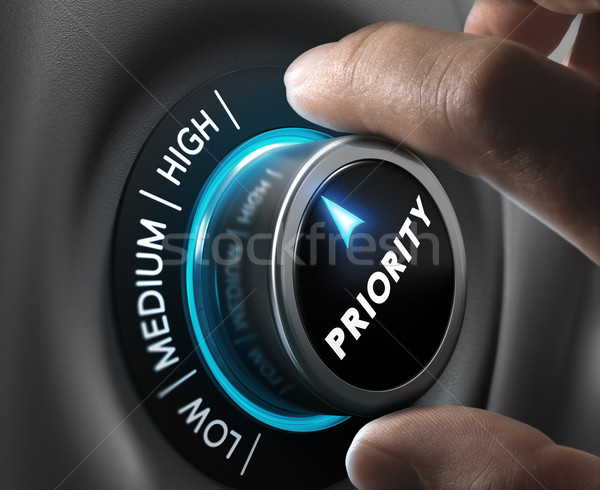 High Priority Stock photo © olivier_le_moal