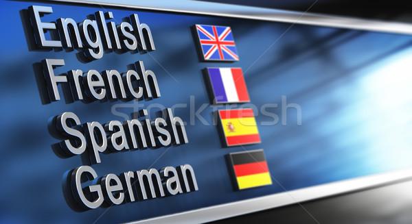 Language School Stock photo © olivier_le_moal