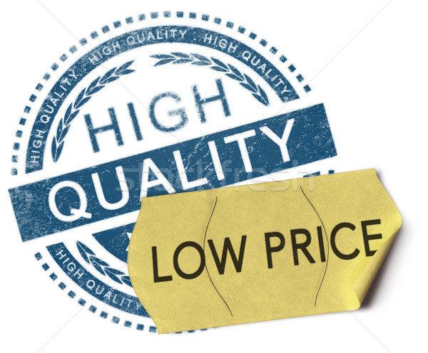 High quality, low price Stock photo © olivier_le_moal