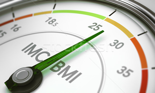 BMI, Body Mass Index Stock photo © olivier_le_moal