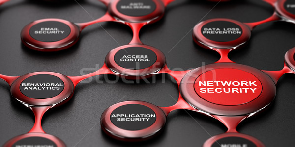 Network Security Services Stock photo © olivier_le_moal