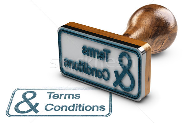 Terms and Conditions  Stock photo © olivier_le_moal