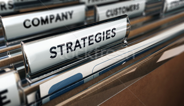 Strategy Plan Stock photo © olivier_le_moal