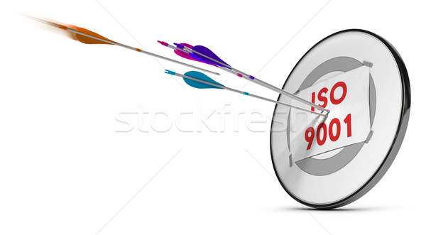 ISO 9001 Stock photo © olivier_le_moal