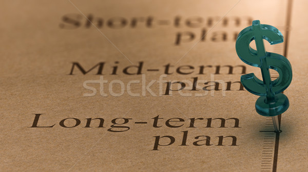 Long Term Investment Plan Stock photo © olivier_le_moal