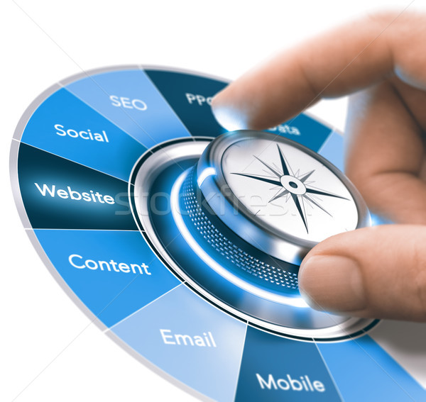 Digital Communication Strategies Training, Marketing 360 degree Stock photo © olivier_le_moal