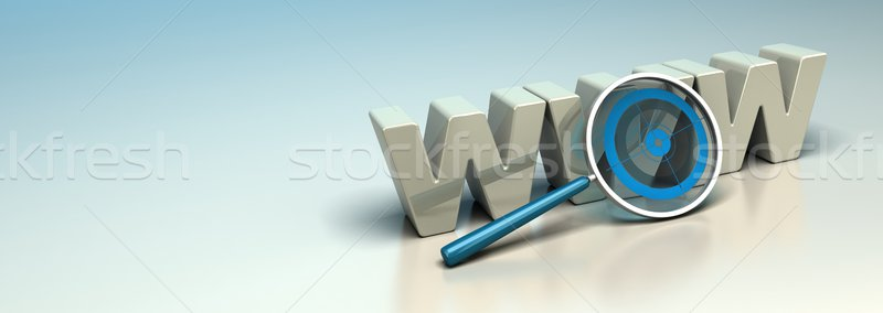 Web Search Engine, Internet SEO Concept, Web Analysis banner Stock photo © olivier_le_moal