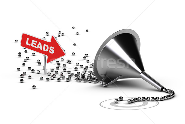 Qualifying Sales Leads, Qualified Sales Stock photo © olivier_le_moal