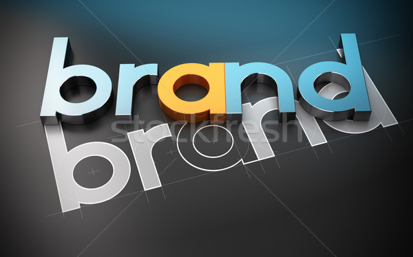 Product Naming - Brand Name Concept Stock photo © olivier_le_moal