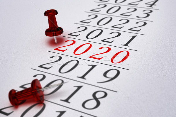 2020 - Two Thousand Twenty Stock photo © olivier_le_moal