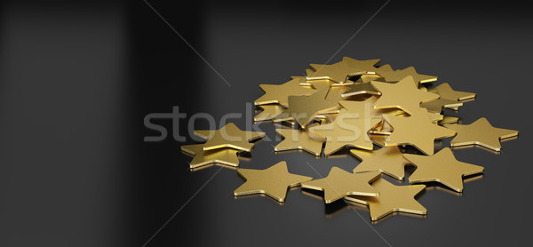 Golden Stars Stock photo © olivier_le_moal