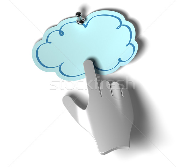 Access to the cloud Stock photo © olivier_le_moal
