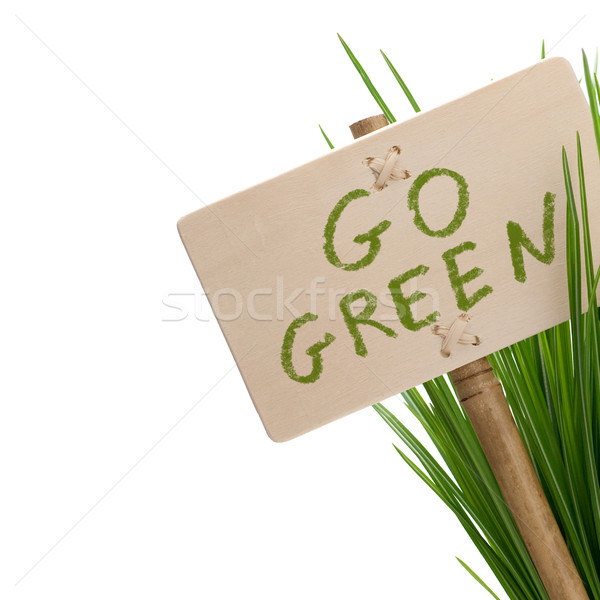 go green Stock photo © olivier_le_moal
