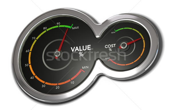 Low Cost, High Value Stock photo © olivier_le_moal