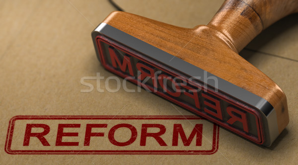 Reform. Law Improvement Stock photo © olivier_le_moal