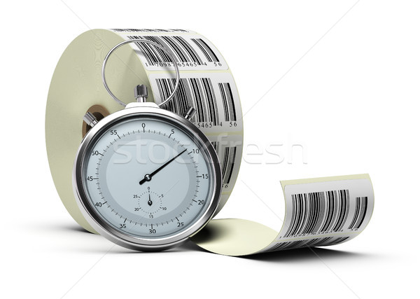 Logistics concept, traceability and timeliness Stock photo © olivier_le_moal