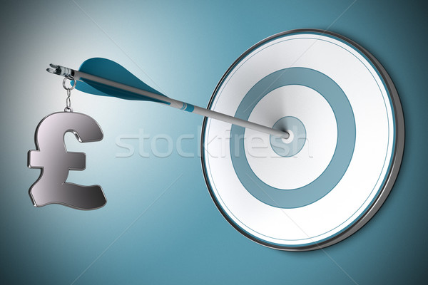 Pound Concept, Financial Adviser or Finance Advisory Stock photo © olivier_le_moal