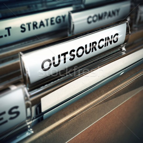 Outsoucing Strategy Stock photo © olivier_le_moal