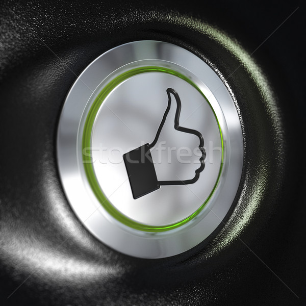 Quality service, Thumbs up Symbol, Automotive Concept Stock photo © olivier_le_moal