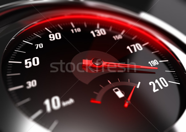 Excessive Speeding Careless Driving Concept Stock photo © olivier_le_moal