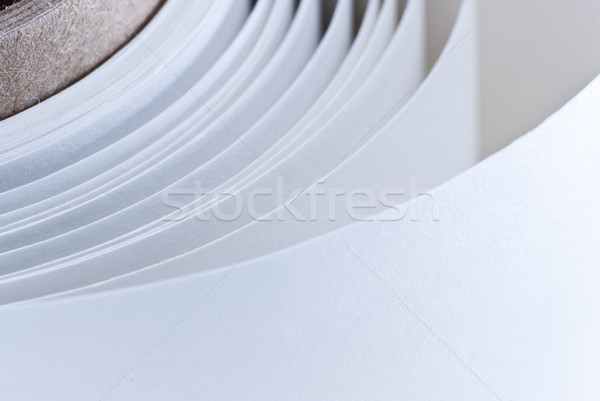 white roll of paper Stock photo © olivier_le_moal