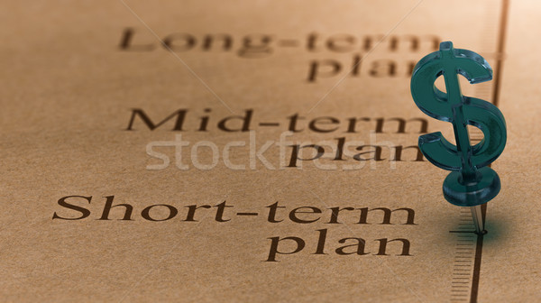Short Term Investment Plan Stock photo © olivier_le_moal