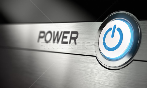 Power Button Stock photo © olivier_le_moal