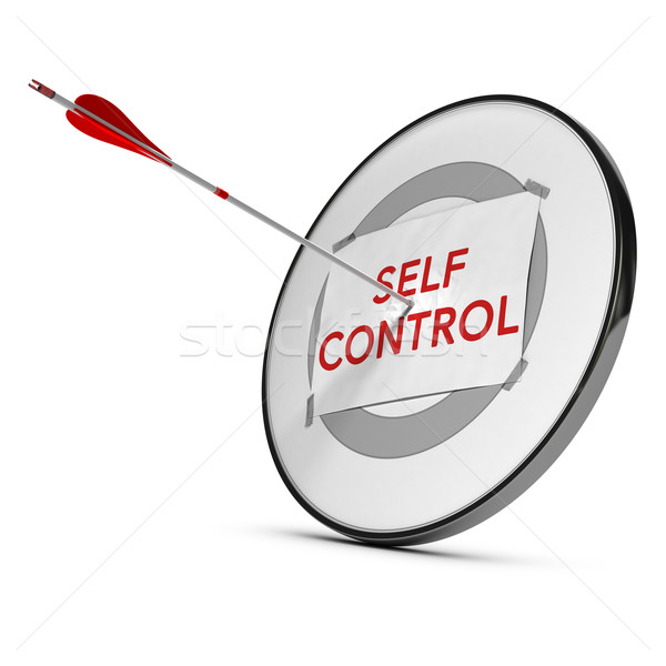 Self Control Stock photo © olivier_le_moal