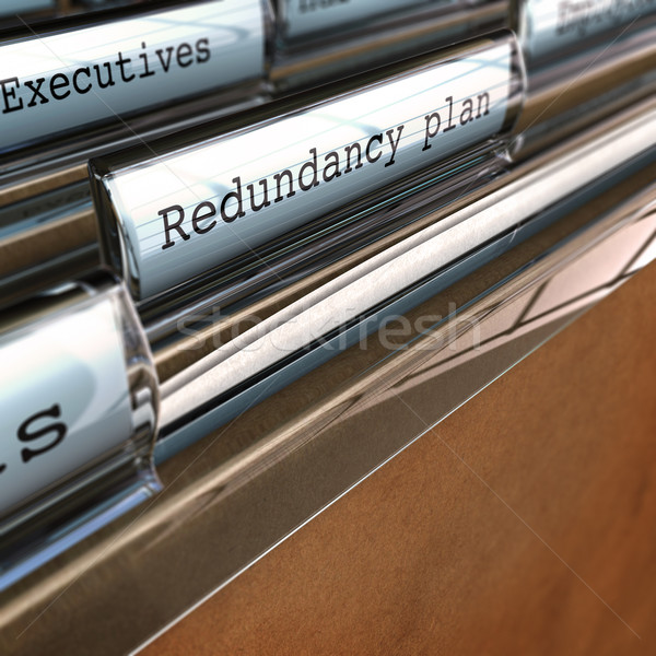 Redundancy Plan, Restructuring a Company Stock photo © olivier_le_moal