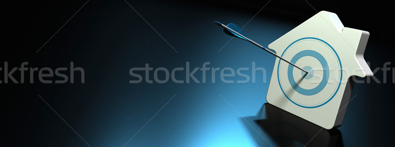 Real Estate Investment. Conceptual Banner Stock photo © olivier_le_moal