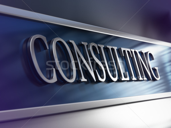 Consulting Firm, Consultancy Company  Stock photo © olivier_le_moal
