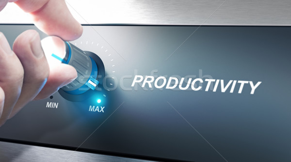 Productivity Management and Improvement Stock photo © olivier_le_moal