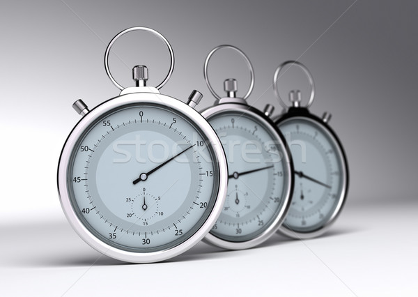 Saving time Stock photo © olivier_le_moal