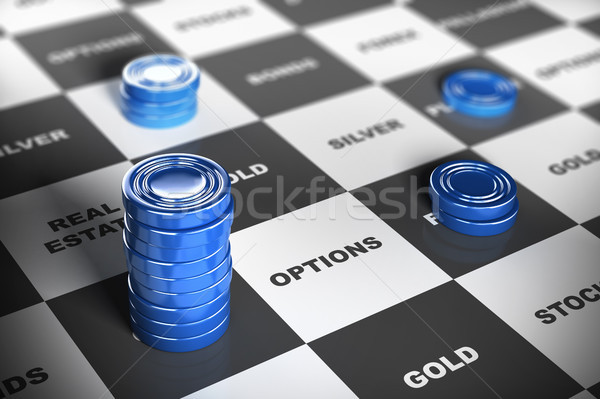 Asset Management or Financial Investments Stock photo © olivier_le_moal