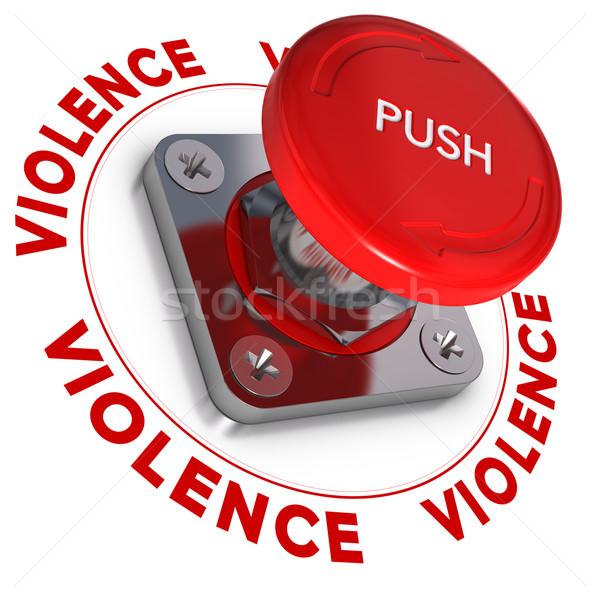 Сток-фото: чрезвычайных · кнопки · слово · насилия