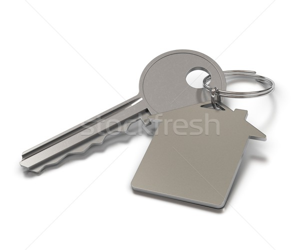 metal keyring with room for text Stock photo © olivier_le_moal