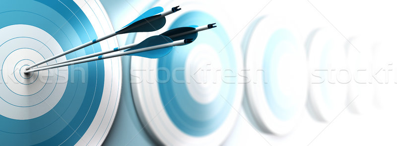 competitive advantage, strategic marketing concept Stock photo © olivier_le_moal