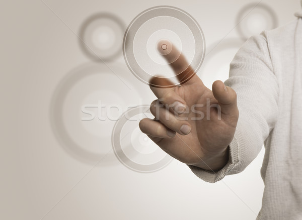 Marketing Target Concept Stock photo © olivier_le_moal