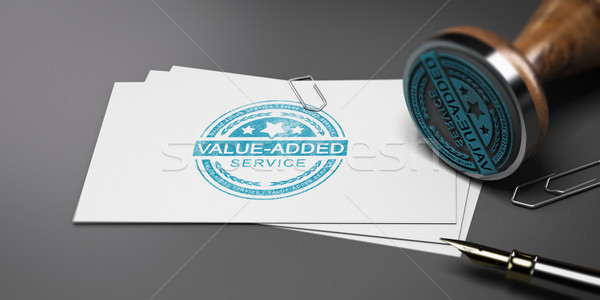 Value Added Service, VAS Stock photo © olivier_le_moal