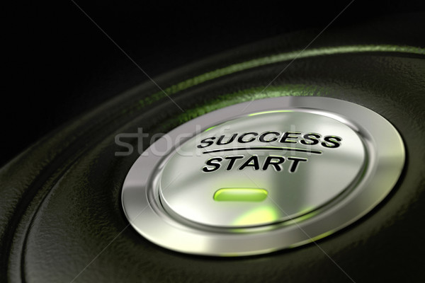 successful decision making Stock photo © olivier_le_moal