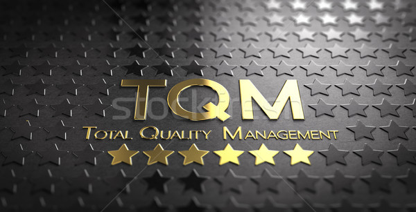 Total Quality Management, TQM. Luxury Industry Stock photo © olivier_le_moal