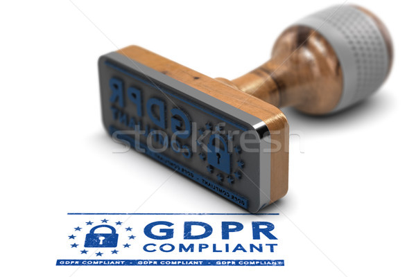 GDPR Compliance, EU General Data Protection Regulation Compliant Stock photo © olivier_le_moal