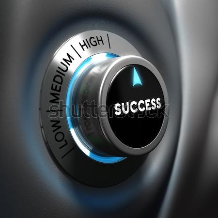 Dificultad difícil hombre dedos botón Foto stock © olivier_le_moal