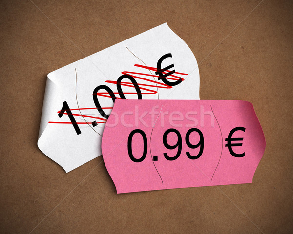 psychological price Stock photo © olivier_le_moal